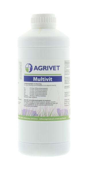MULTIVIT ORAAL AGRIVET 1L. REG.NL 4601