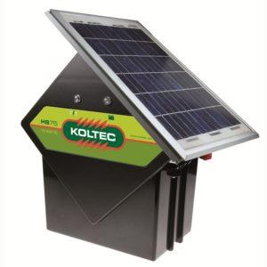 SOLARSET KOLTEC HS75 + 10 WATT ZONNEPAN