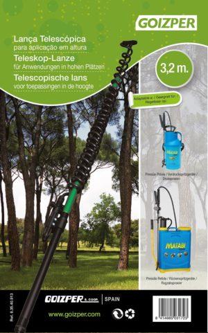 VERLENGSTOK TELESCOP. XXL MATABI 5.4M.