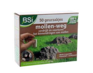 MOLLEN-WEG GEURZAKJES  50ST.