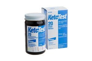 KETO-TESTSTRIPS 20 STRIPS