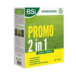 BSI GRASZAAD PROMO 2 IN 1 GAZON 3KG