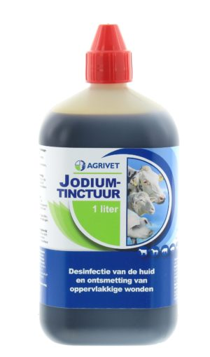 JODIUMTINCTUUR AGRIVET 1L. REGNL 9780